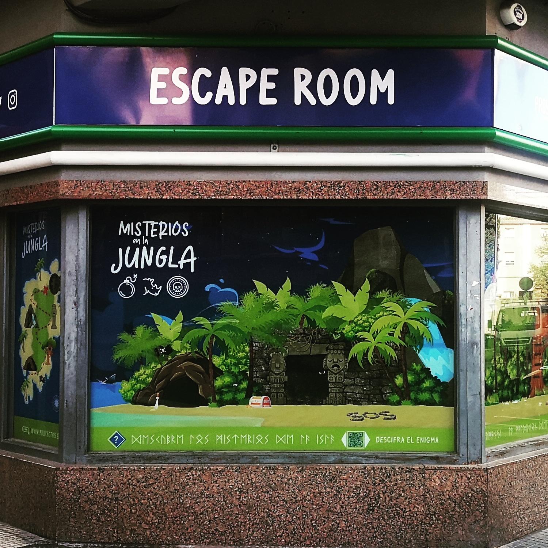 escape room jumanji jungla selva